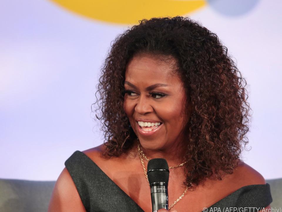Fans können Michelle Obama zuhören