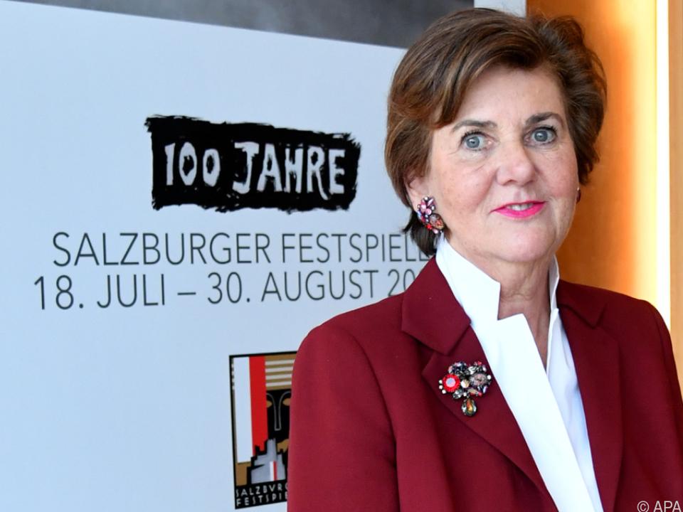 Festspielpräsidentin Rabl-Stadler erhofft sich mehr Klarheit