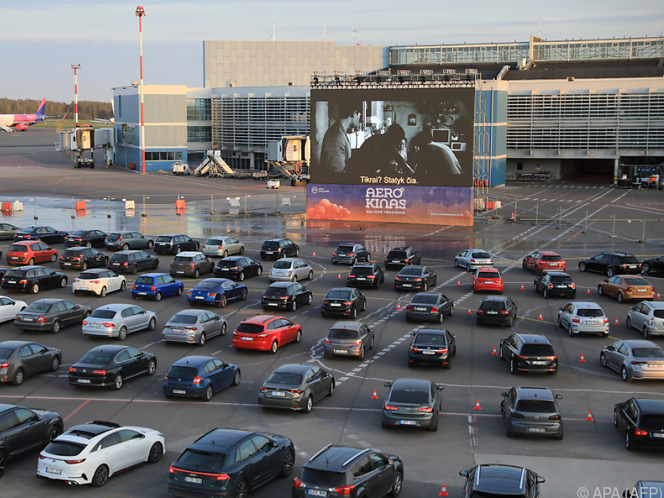 Filmfestival von Vilnius auf Flughafen