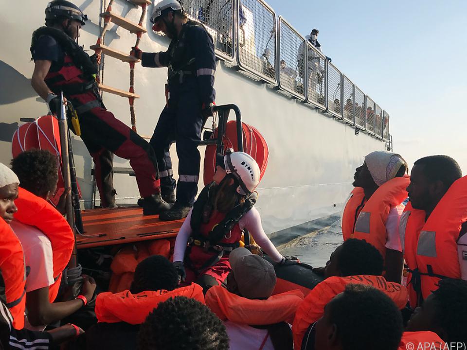 Flüchtlinge könnten mit dem Corona-Virus infiziert sein