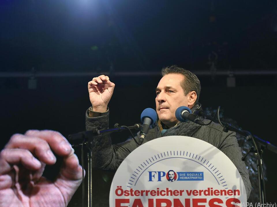Frage zur Finanzierung von Straches Facebook-Seite noch offen