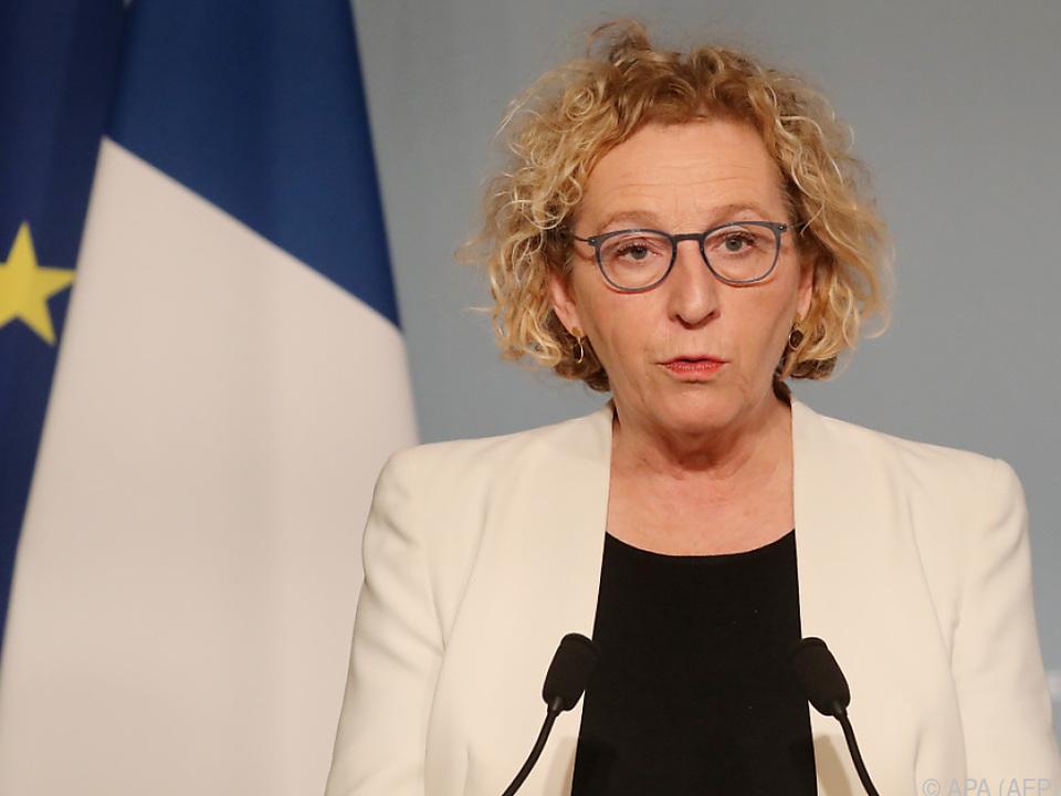 Frankreichs Arbeitsministerin Muriel Penicaud