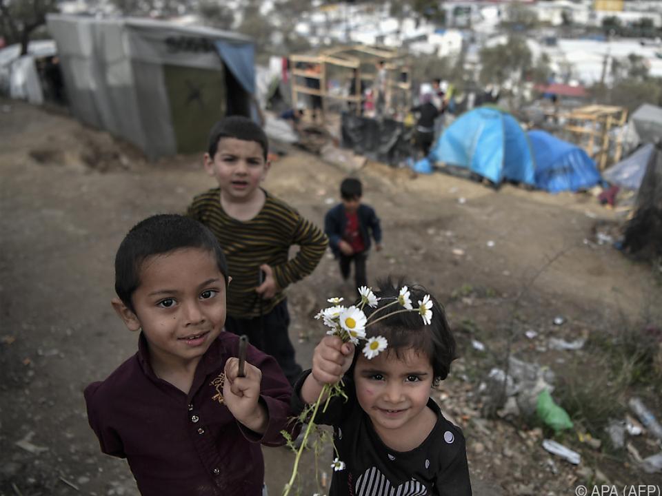 Für Kinder ist es in den Flüchtlingslagern besonders schlimm