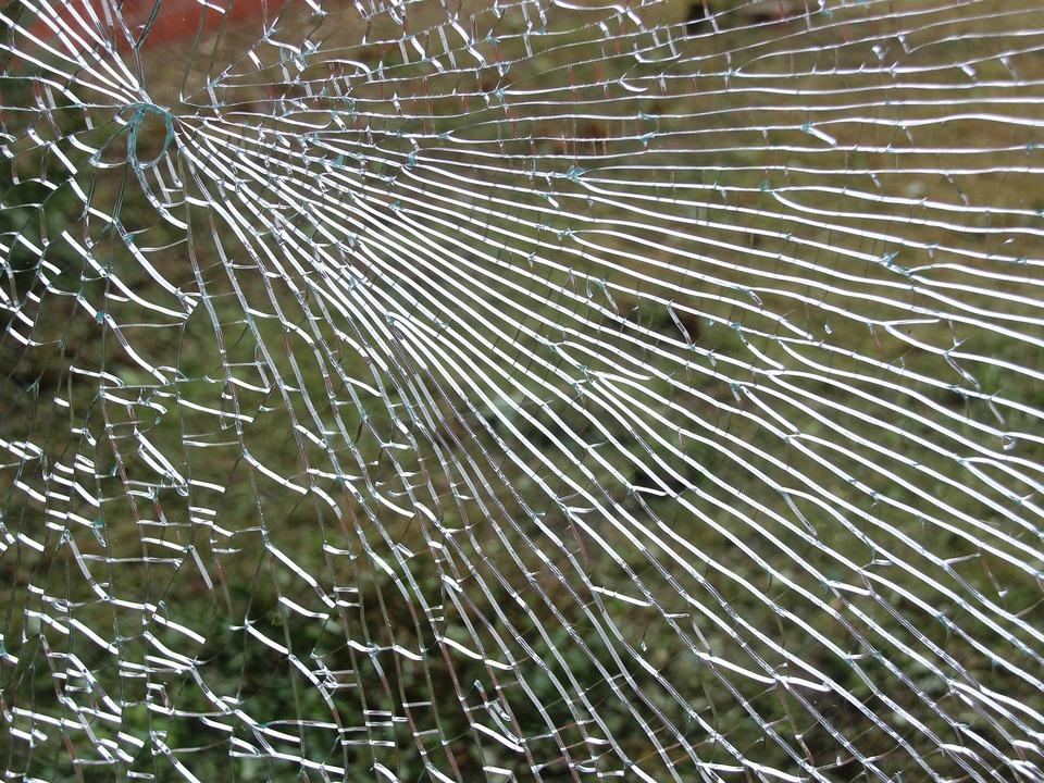 Einbruch Glas