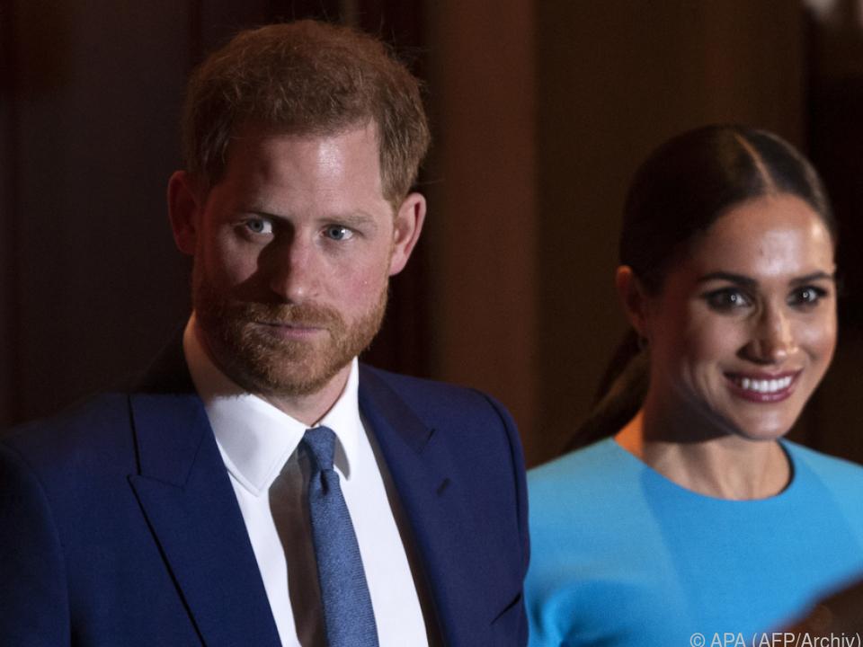 Harry und Meghan stehen Teilen der Presse kritisch gegenüber