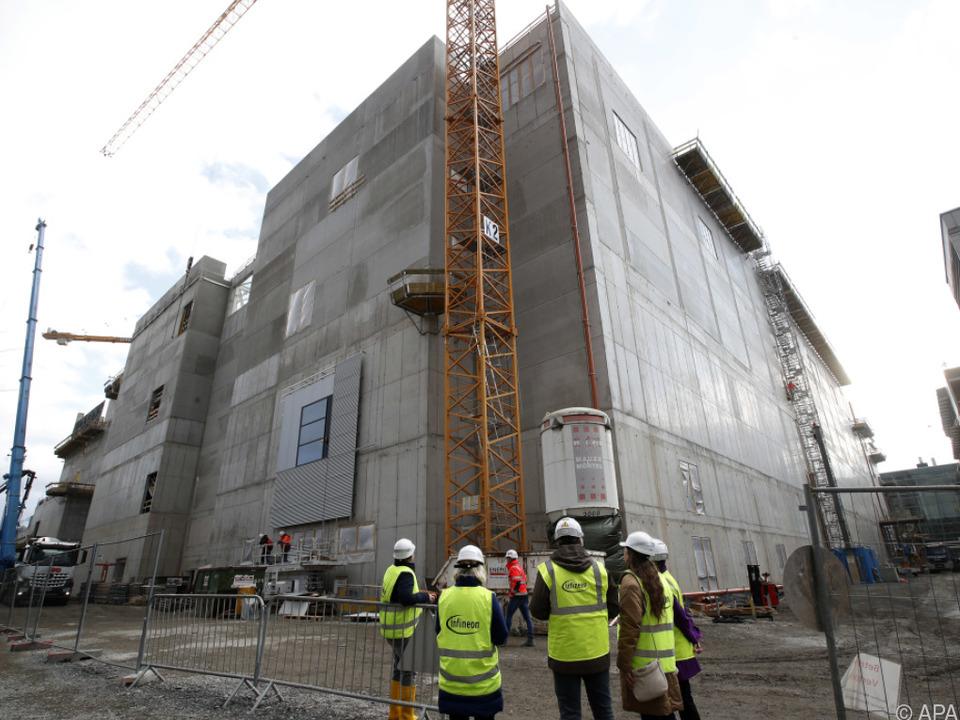 Im Februar begannen in Villach die Arbeiten zum Standortausbau
