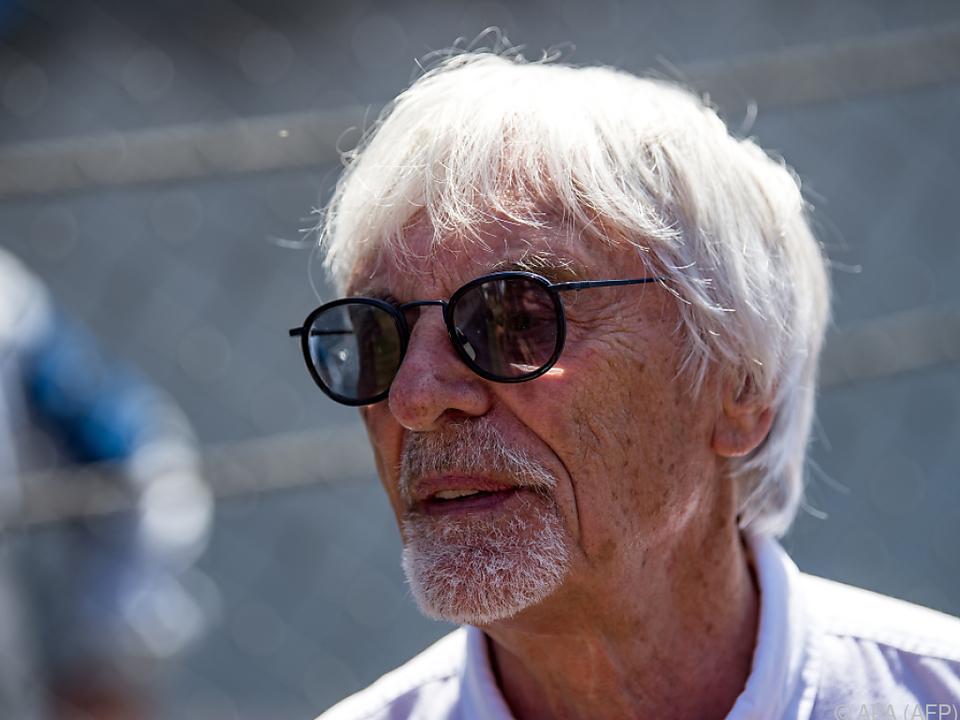 Formel 1: Ecclestone plädiert für komplettes Saison-Aus