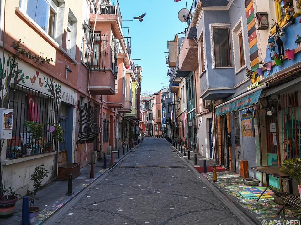 In Istanbul werden die Straßen am Wochenende wieder menschenleer sein