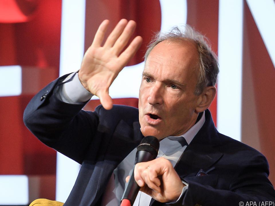 Internet-Erfinder Tim Berners-Lee (Archivbild)