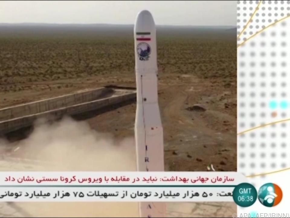 Sicherheitspolitik - Kritik am Iran nach Start von Militärsatelliten
