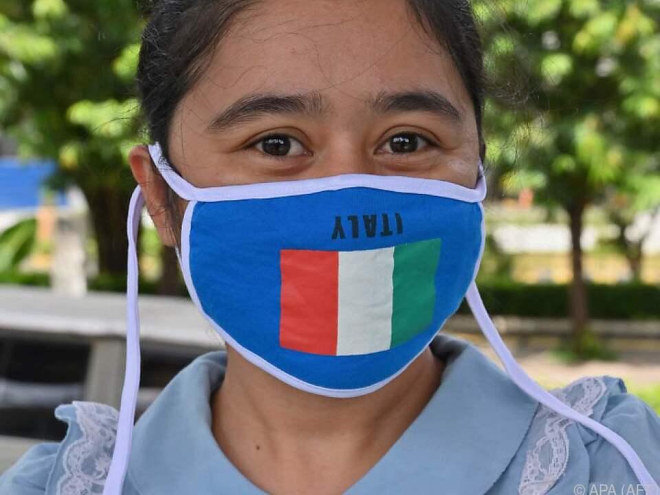 Italien wurde in Europa vom Coronavirus am schlimmsten getroffen