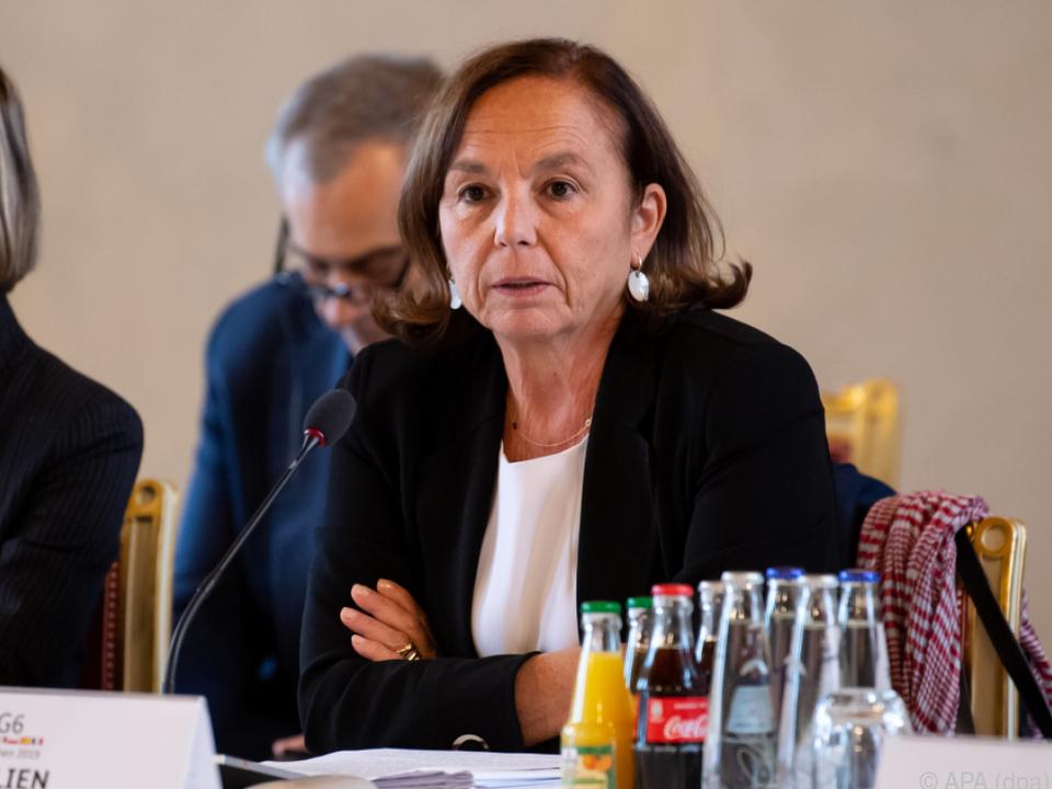Italiens Innenministerin Luciana Lamorgese fordert strenge Kontrollen