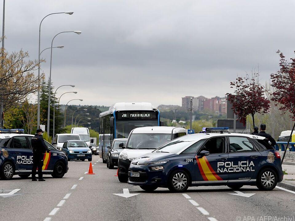 Italiens Polizei im Dauereinsatz