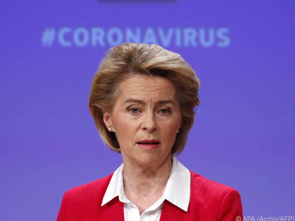 Kommissionspräsidentin von der Leyen verschob Präsentation des Plans