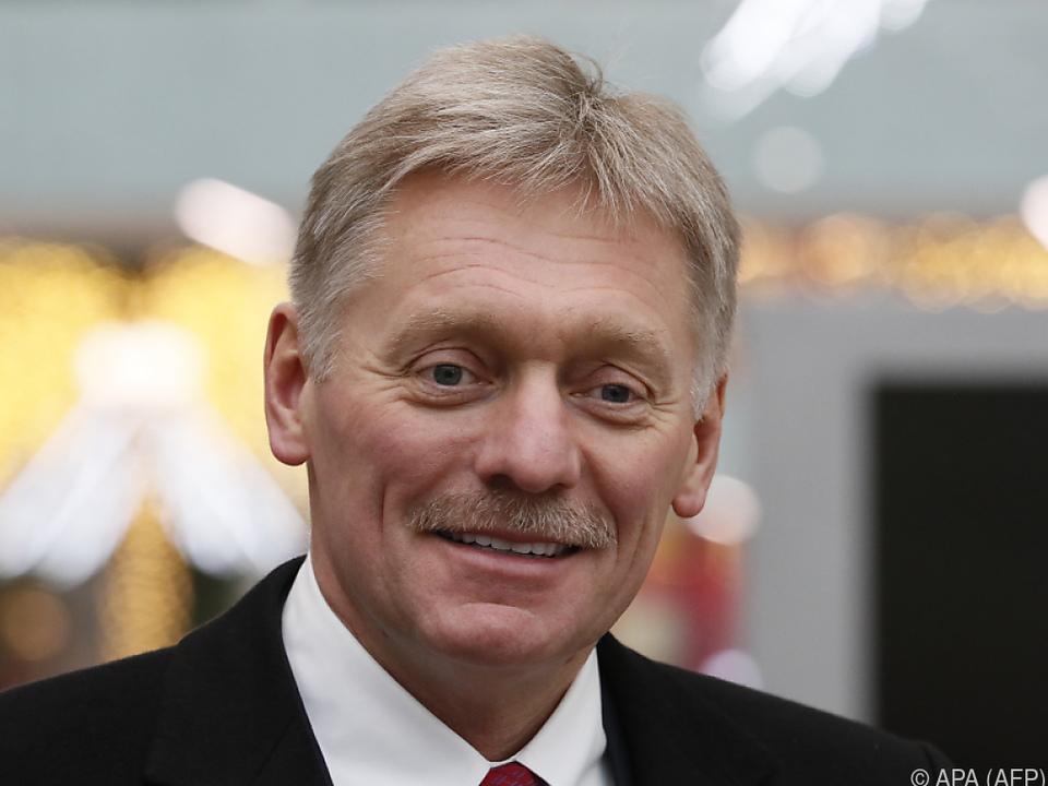 Kreml-Sprecher Dimitri Peskow