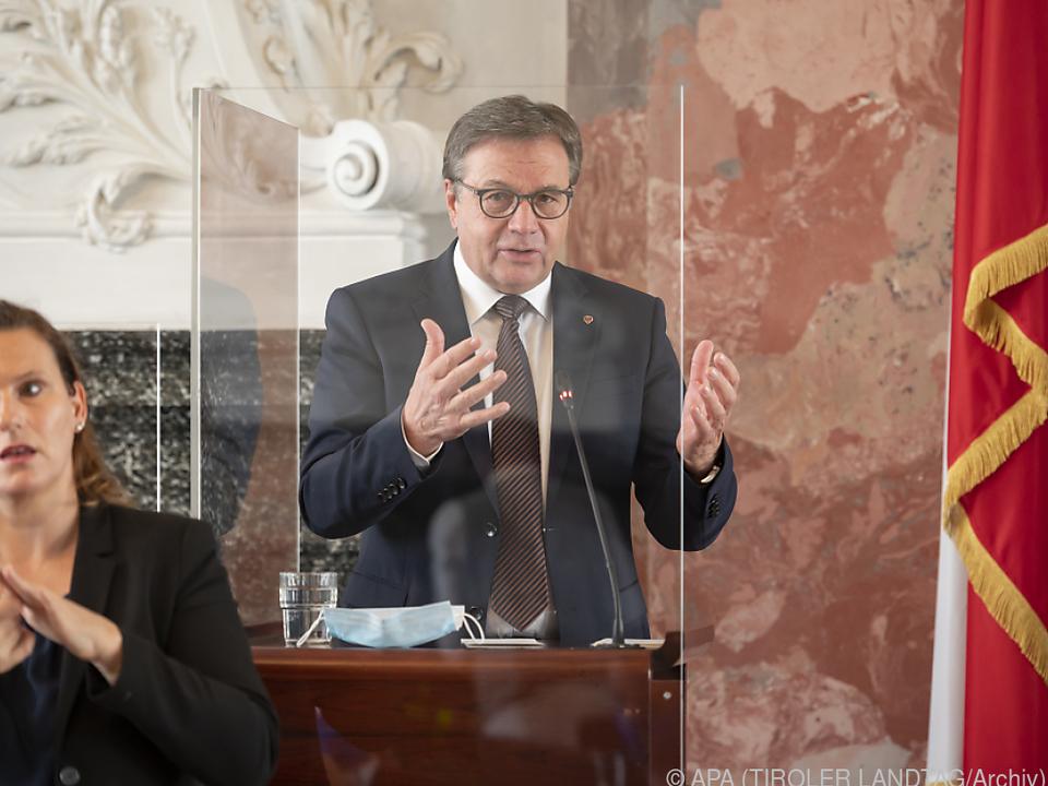 Landeshauptmann Platter kündigte Aufhebung der Quarantäne an