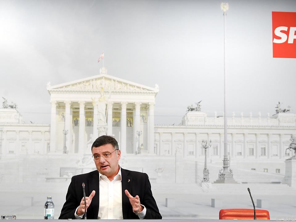 Leichtfried erläuterte SPÖ-Wünsche