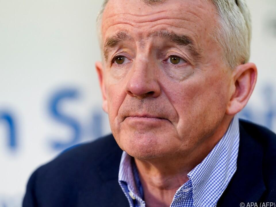 Michael O\'Leary sieht Ryanair für Krise gerüstet
