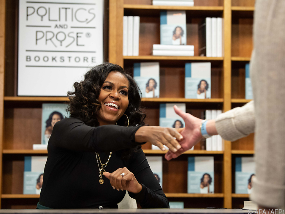 Michelle Obama sorgte für Glamour in der US-Politik