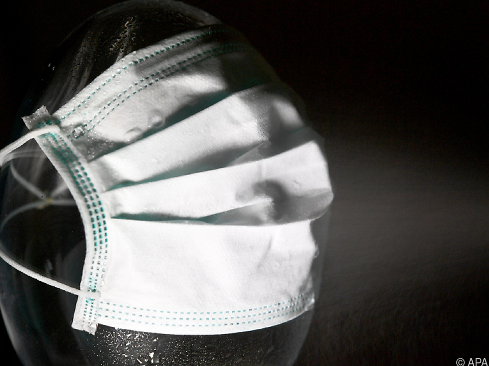 Mundschutzmasken zur Zeit sehr gefragt