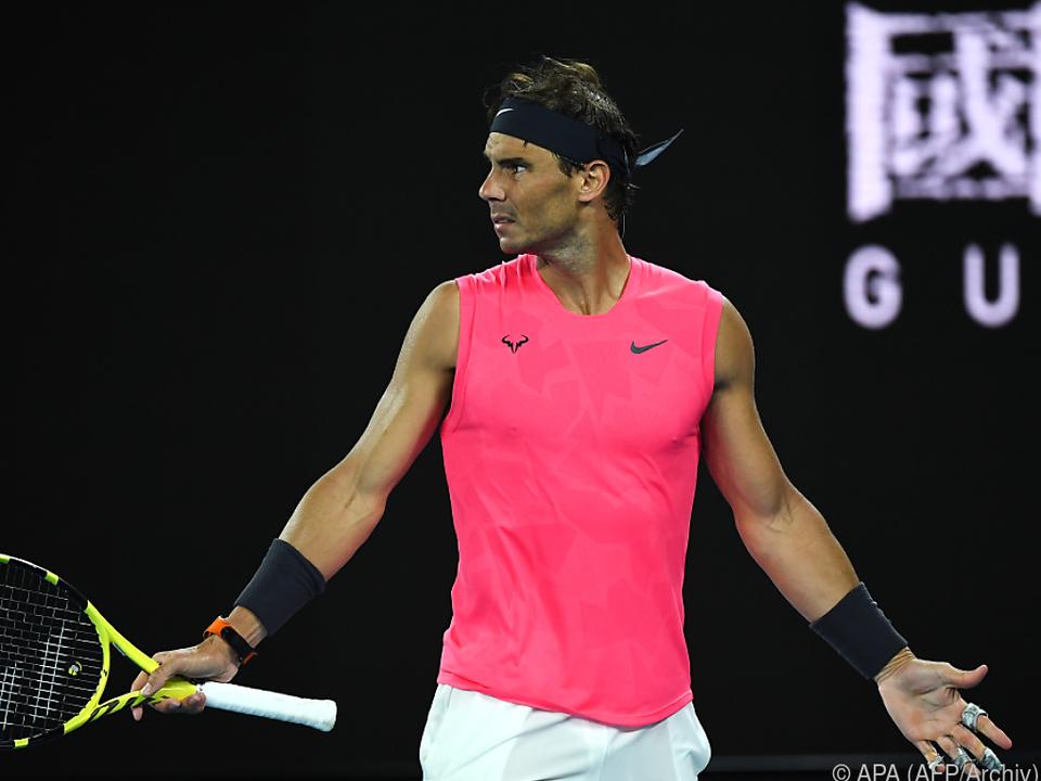 Nadal hofft jedoch, bald wieder auf dem Platz stehen zu können