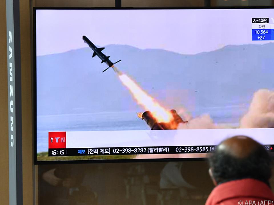 Neuer Waffentest in Nordkorea