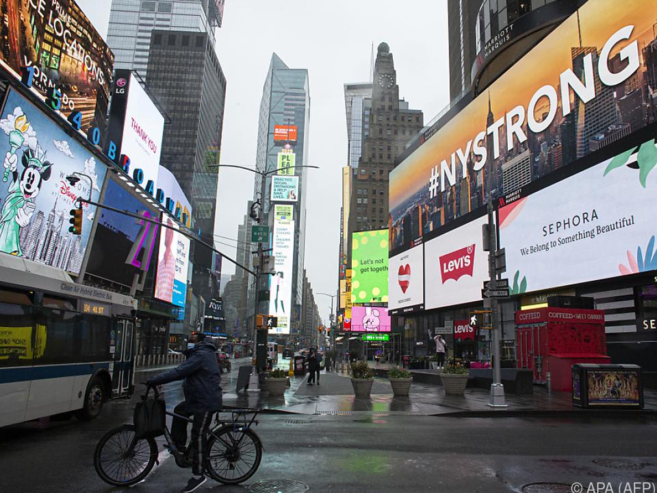 New York City, so leer wie selten zuvor