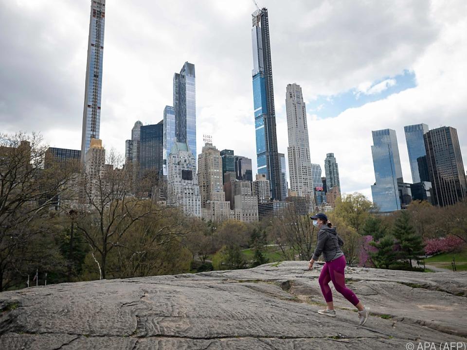 New York wurde von der Coronakrise besonders schwer getroffen
