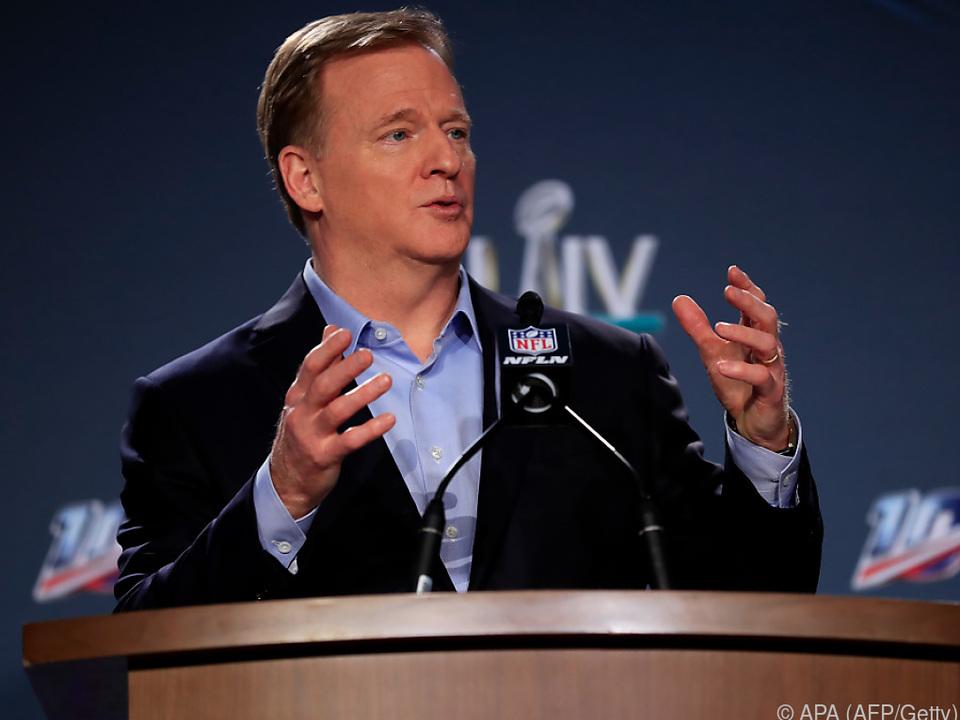 NFL-Commissioner Roger Goodell verkündete die Entscheidung