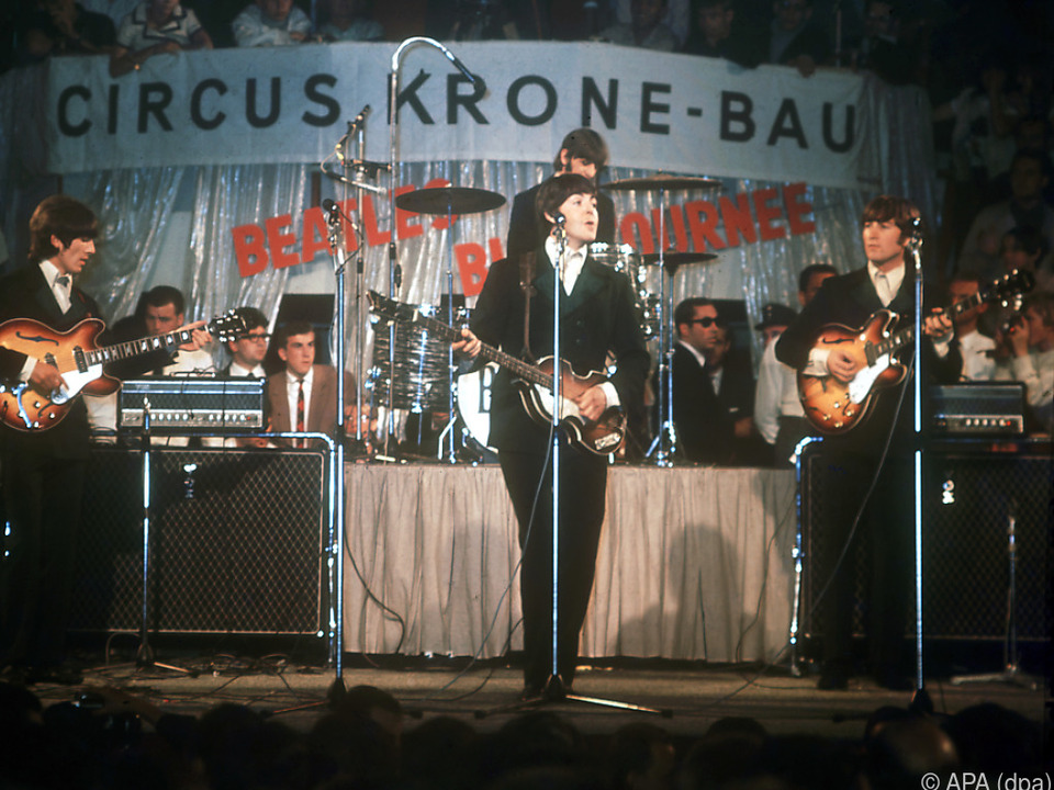 Paul McCartney und die Beatles im Jahr 1966