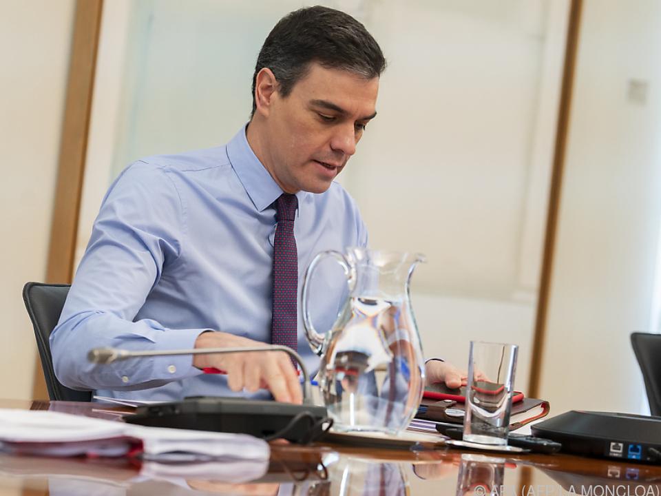 Pedro Sanchez will seinen Vorschlag am Donnerstag präsentiert