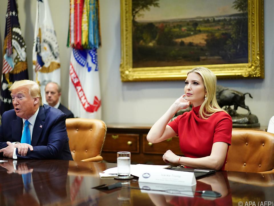 Präsidenten-Tochter Ivanka Trump