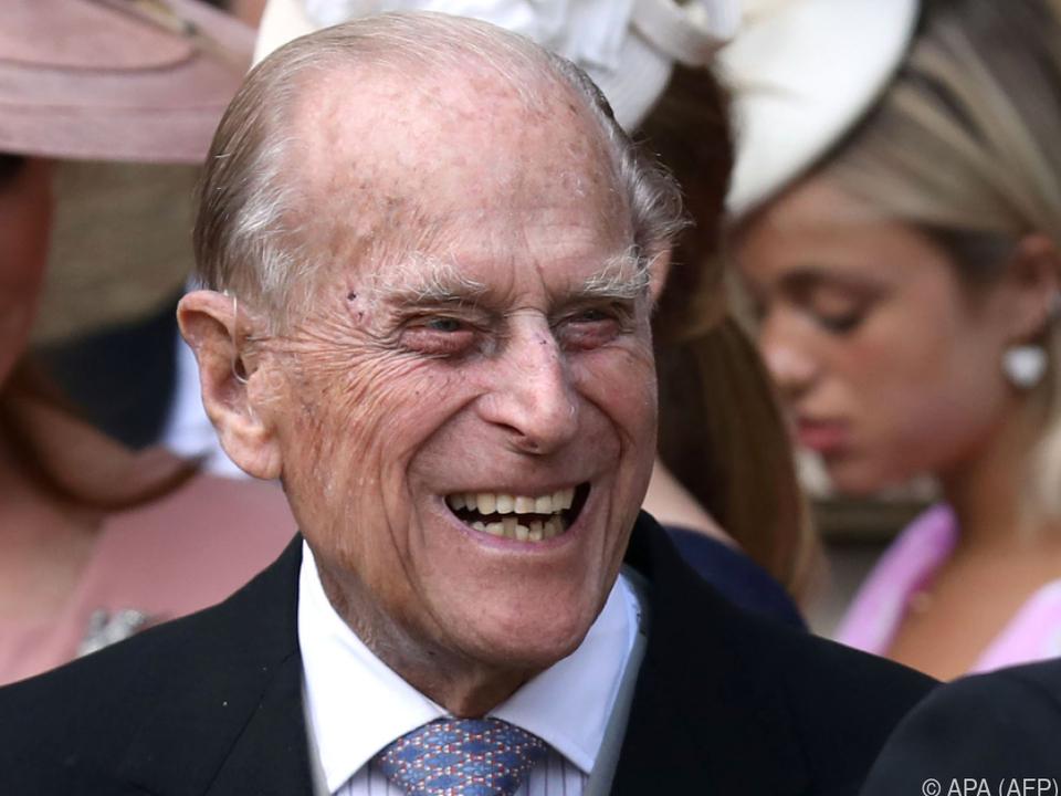 Prinz Philip ist seit 2017 im Ruhestand