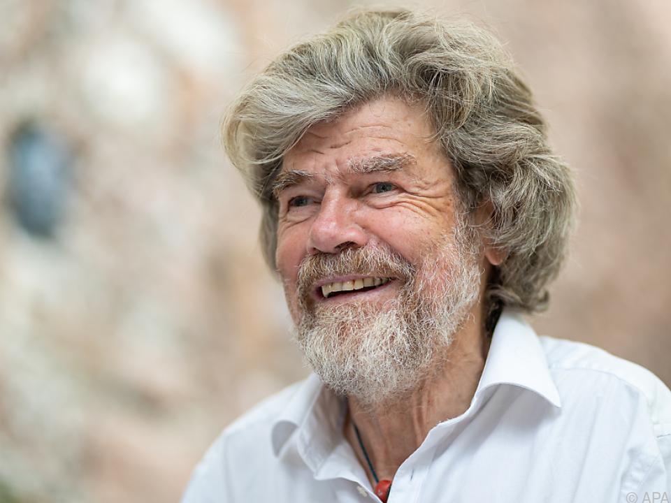 Reinhold Messner hat bereits eine neue Partnerin