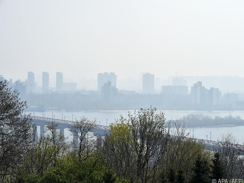 Rekord-Luftverschmutzung in Kiew