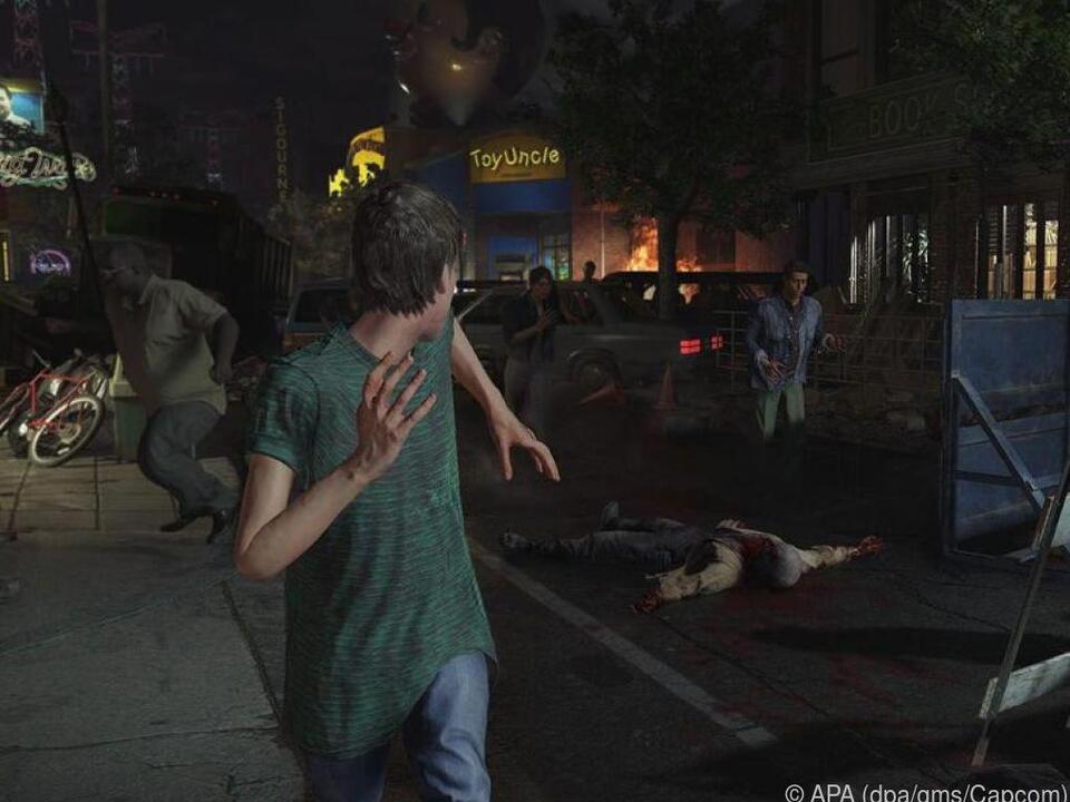 Nichts wie weg, die Zombies kommen!