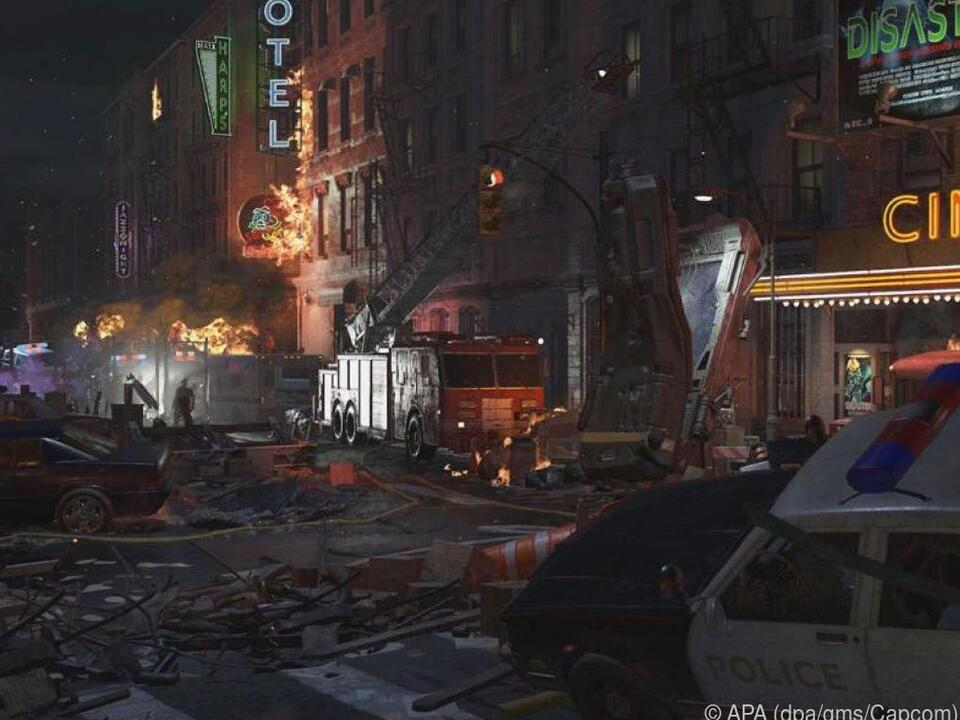 Sieht nicht aus, als wäre in Raccoon City alles in Ordnung