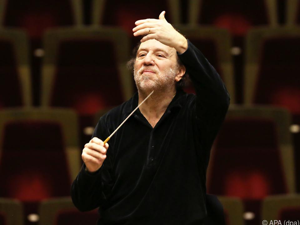 Riccardo Chailly wird das Requiem dirigieren