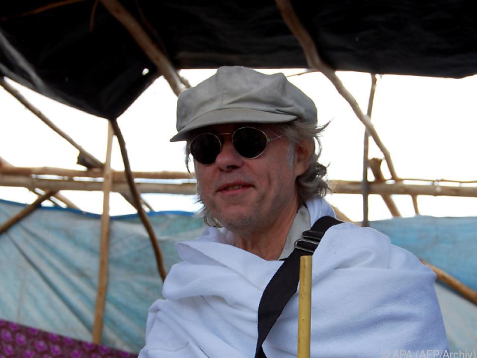 Rockmusiker Bob Geldof ist mittlerweile 68