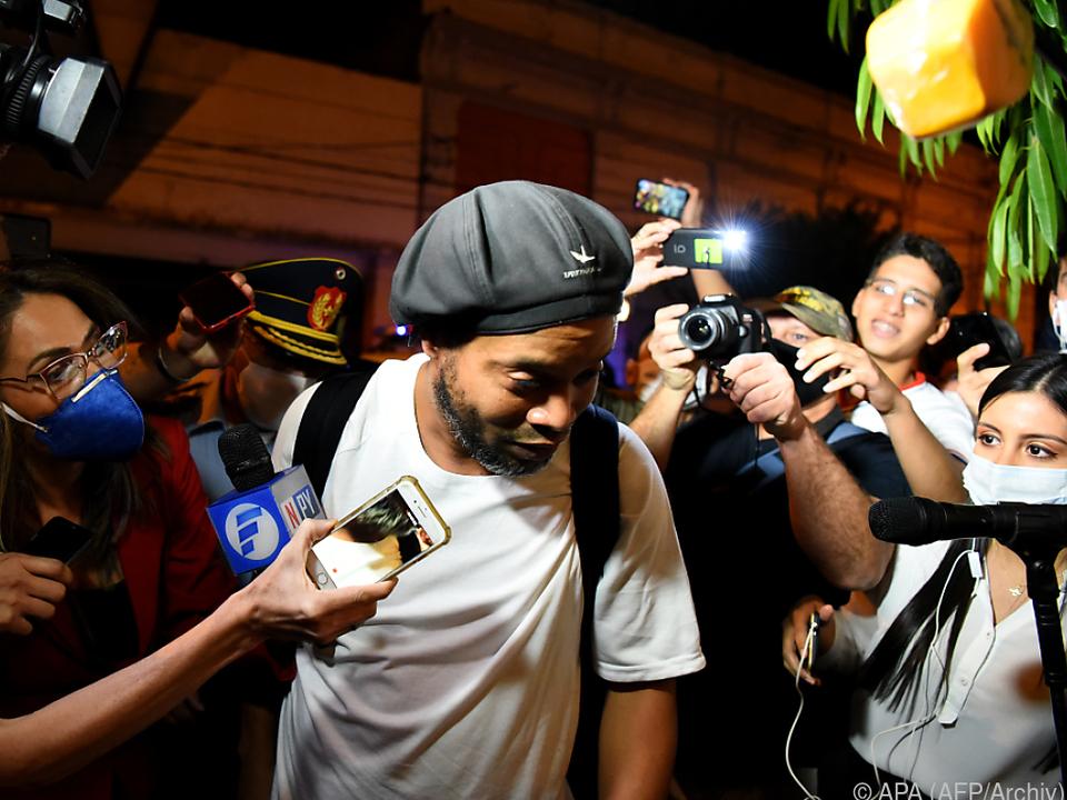 Ronaldinho saß 30 Tage im Gefängnis