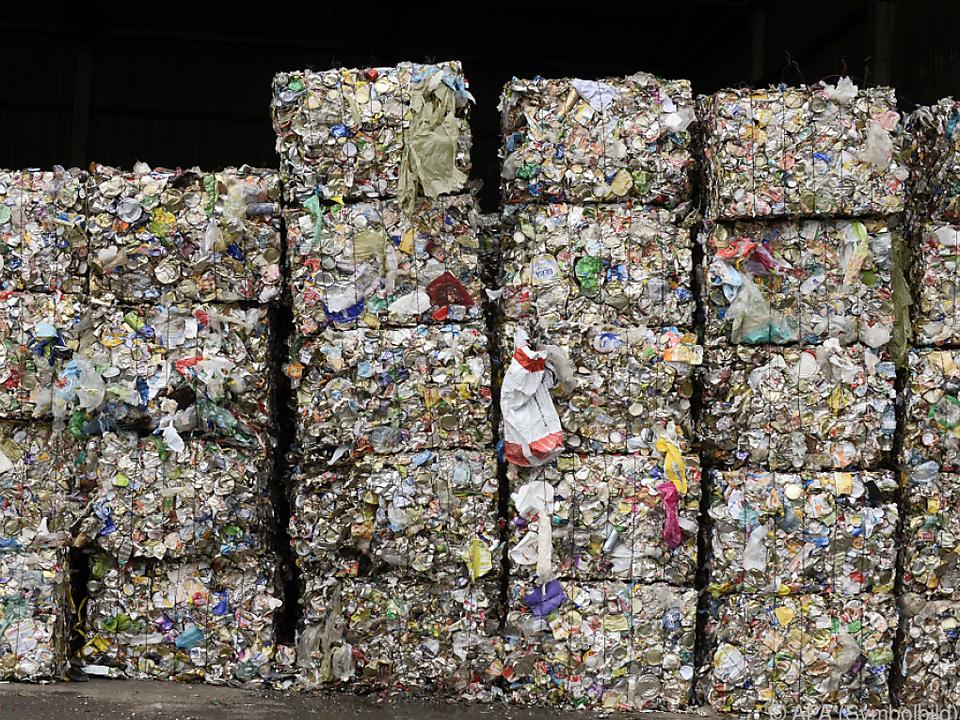 Rund 11,4 Mio. Tonnen Müll gehen in die Türkei