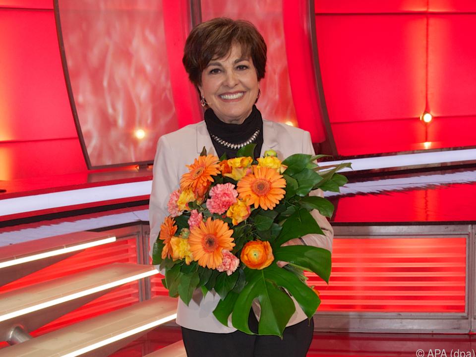 Sängerin und Fernsehmoderatorin Paola Felix