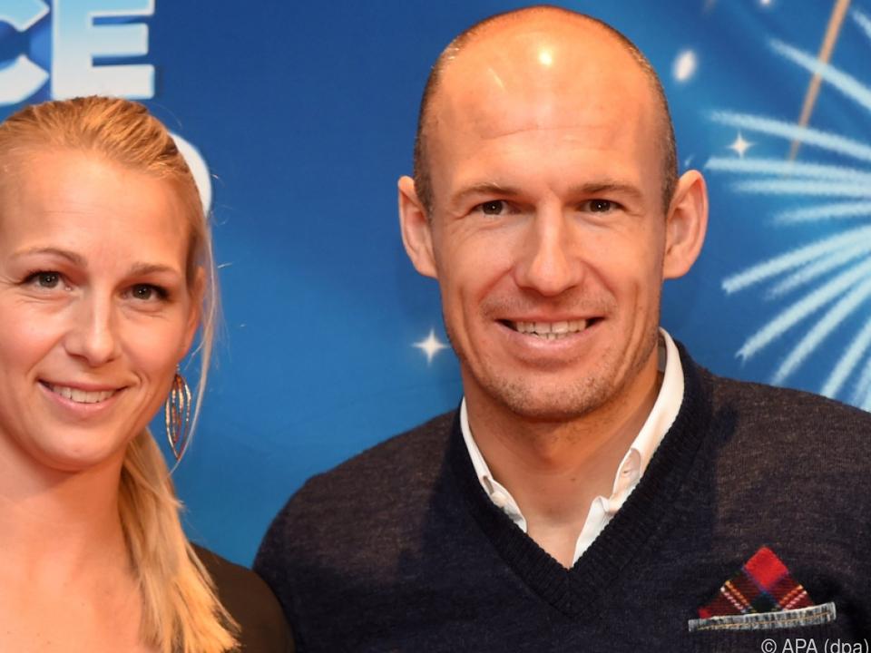 Schwere Zeiten für Arjen Robben und Ehefrau Bernadien