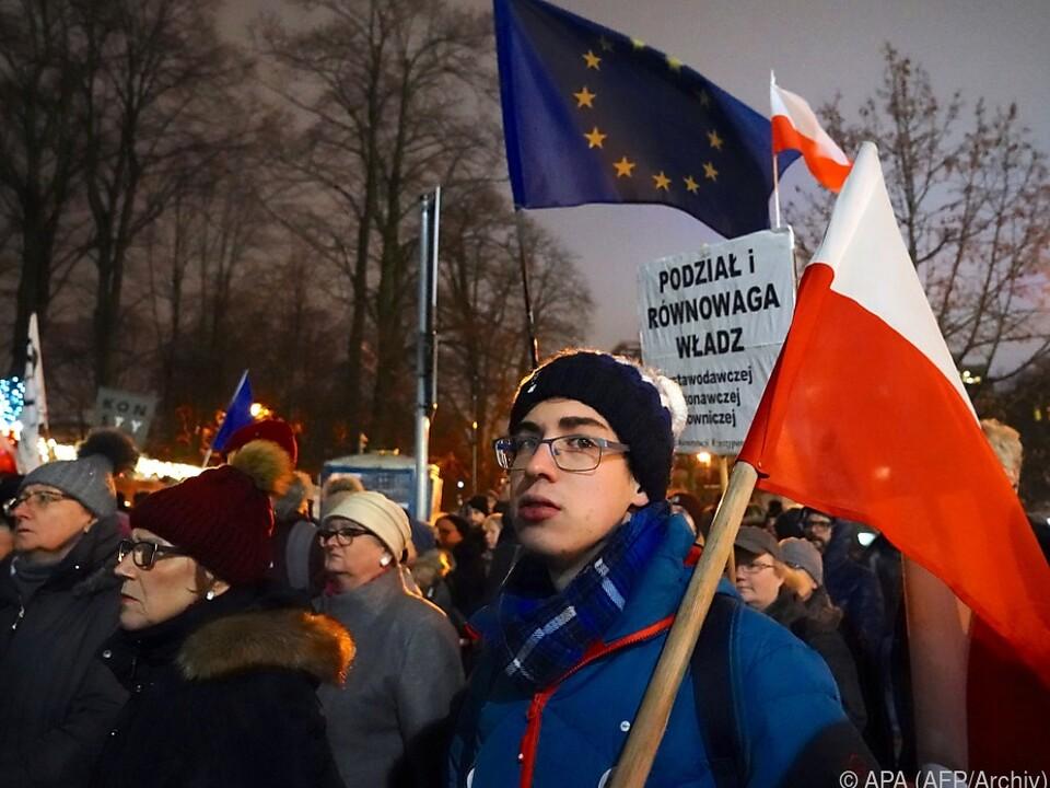 Selbst in Polen regt sich Widerstand gegen die Justizreform