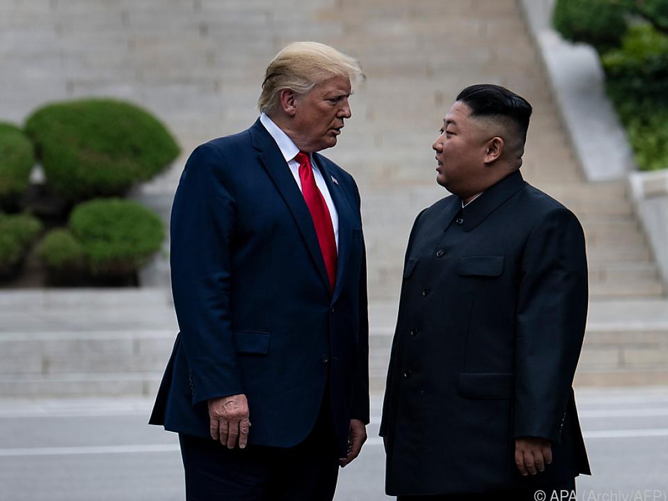 Trump über Kim Jong Un:
