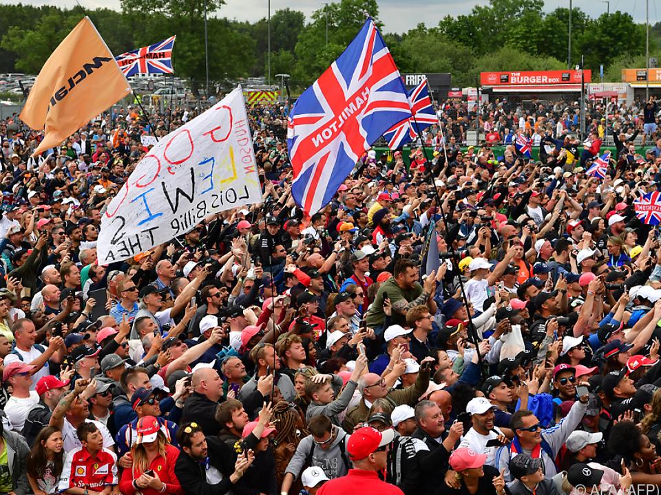 Sieben von zehn Teams haben ihren Sitz in der Nähe von Silverstone