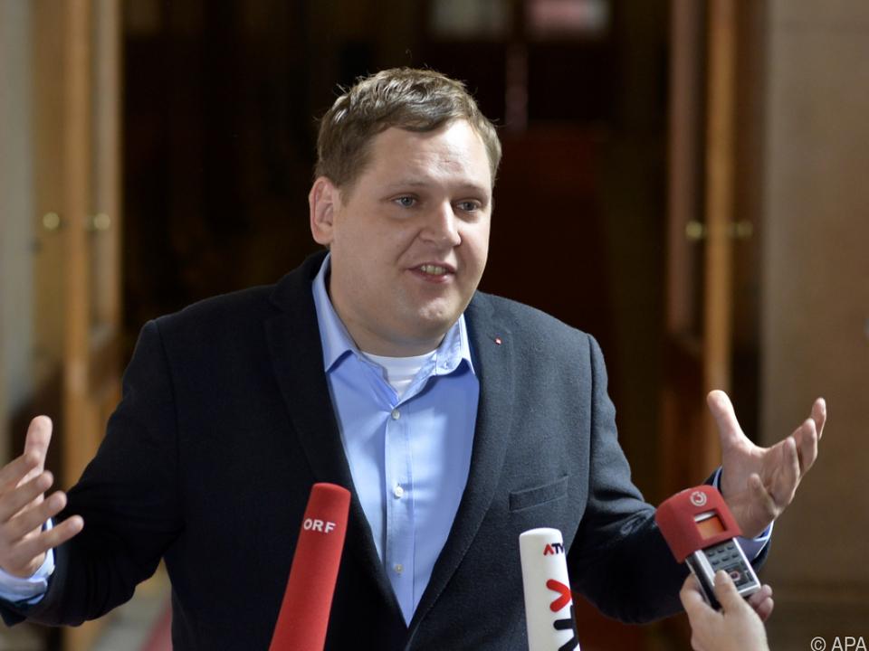 SPÖ-Gesundheitssprecher Philip Kucher