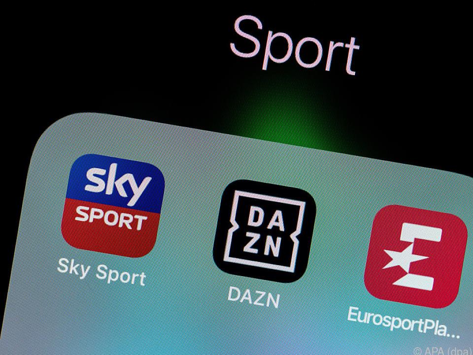 Sport-TV-Anbieter haben Probleme