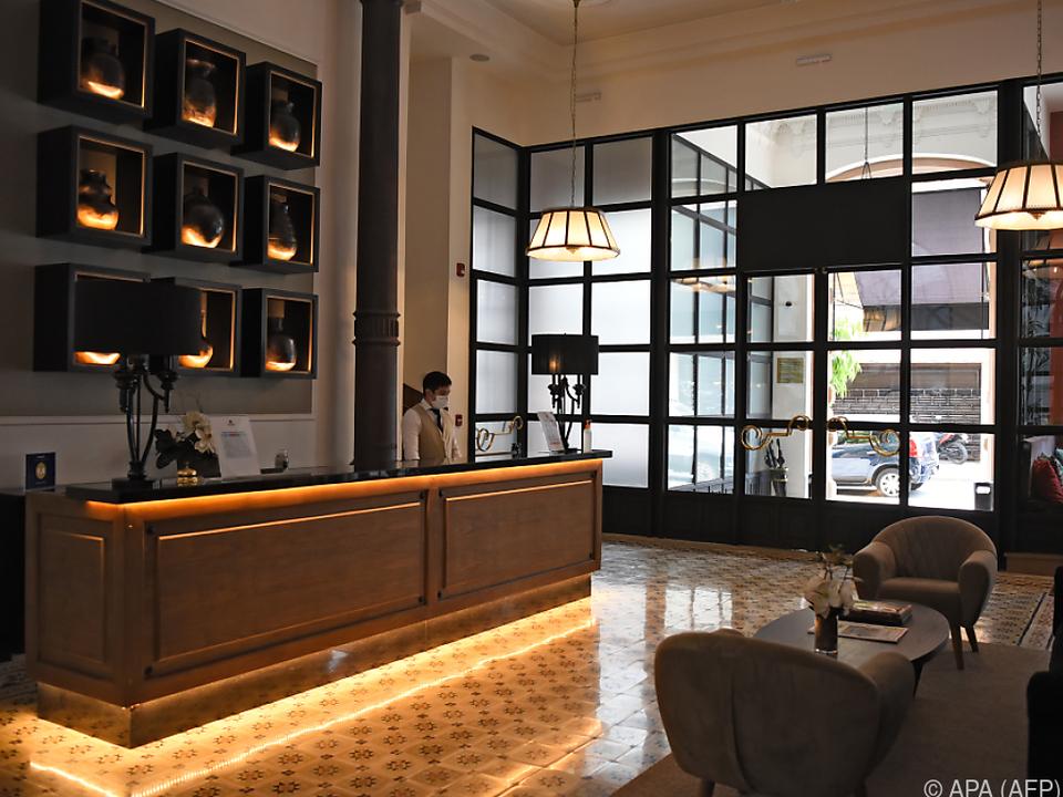 Suite im Palmaroga-Hotel kostet 350 Dollar pro Nacht