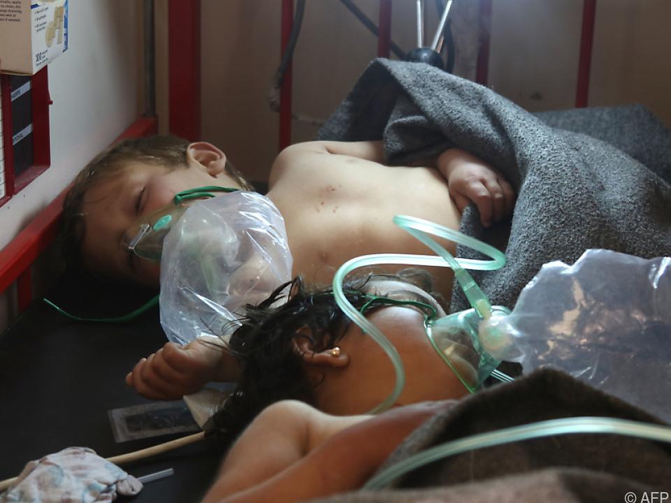 Syrische Luftwaffe soll 2017 Giftgas eingesetzt haben
